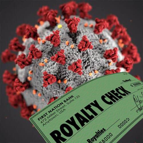 A koronavírus és a jogdíjak